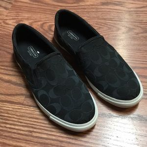 Coach Slide On Shoes Size 9